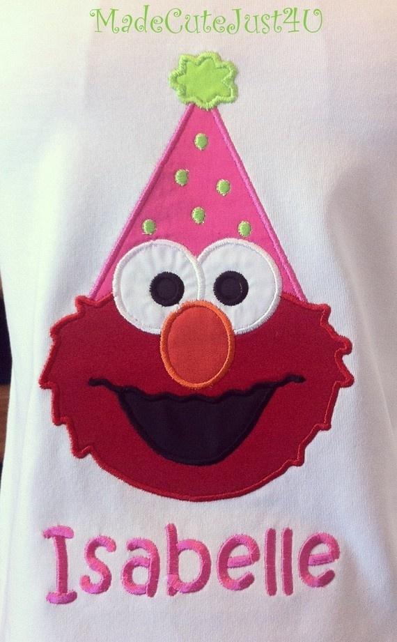 Personalized Elmo Shirt