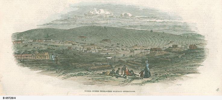 Burra Burra Mine - The Surface Operations 1847