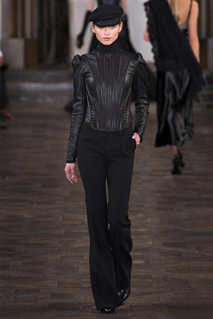 Sfilata Ralph Lauren New York - Collezioni Autunno Inverno 2013-14 - Vogue