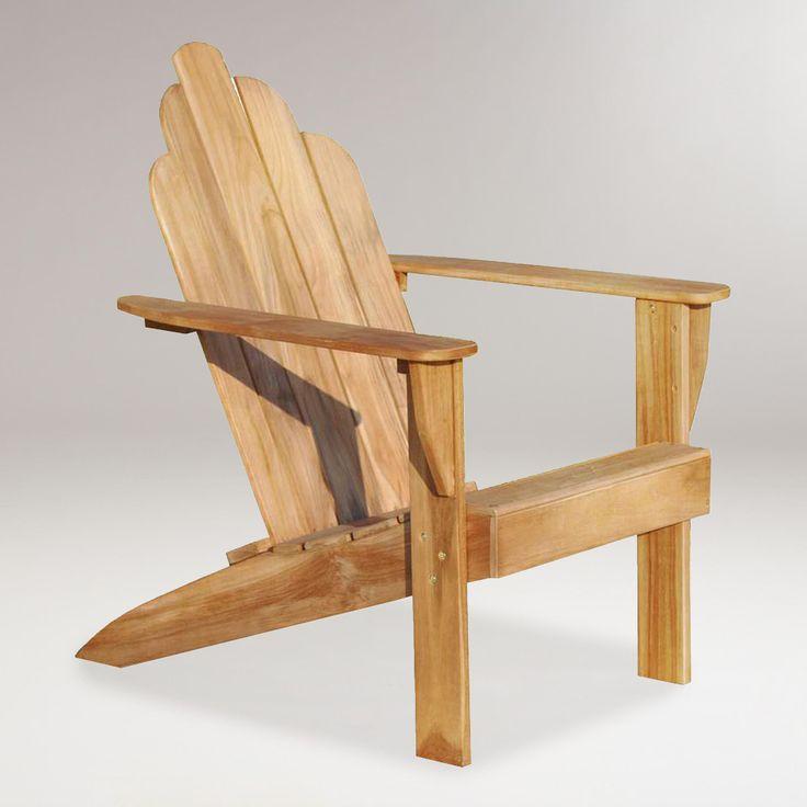 Teak Adirondack Chair | World Market