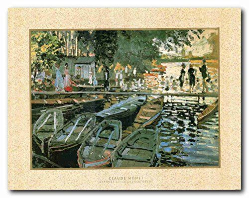 Bring home this wonderful wall décor Claude Monet Art Print Poster 22x28. This will definitely help to enhance the look of your domain. This contemporary style wall art will make a bold statement in any room in your home. Hurry up! Buy this poster for its wonderful quality with a high degree of color accuracy.