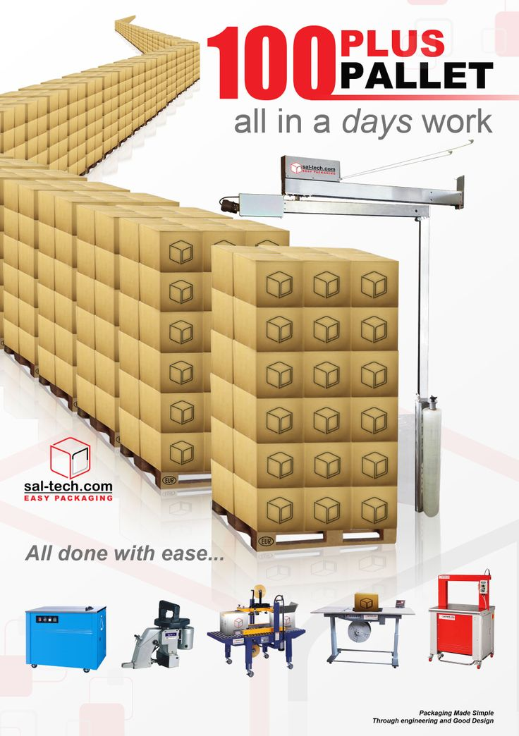E3 WRAP 2100 Pallet Wrapper  Hallbrook E3 2100 Wrap Pallet Wrapper is capable of wrapping more than a 100 pallets in a normal working day. Definitely a great investment for your business.