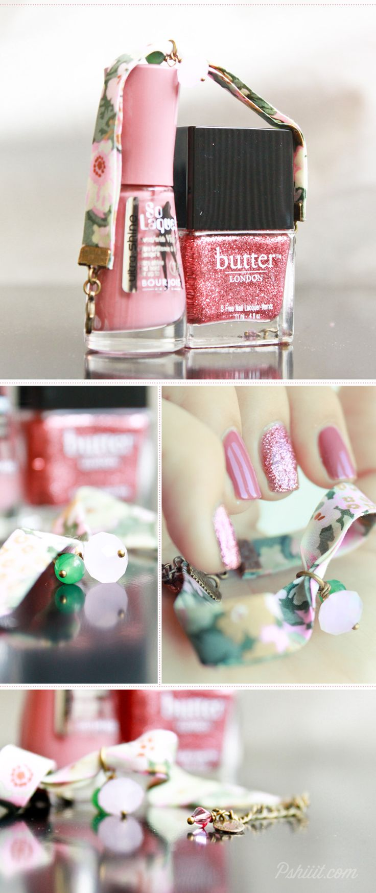 Butter London - Rosie Lee ♥ Bourjois - Beige Glamour