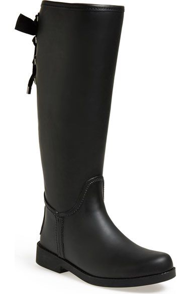 COACH 'Tristee' Waterproof Rain Boot available at #Nordstrom