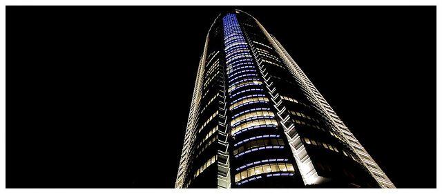 Roppongi Hills Mori Tower at Night in Tokyo - Japan by AmnesiArt