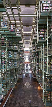Bibliothèque Jose Vasconcelos — Mexico City, Mexique