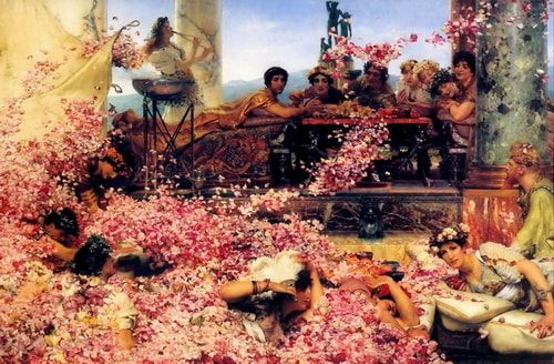 The Roses of Heliogabalus Lawrence Alma Tadema