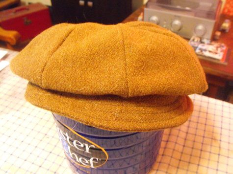 newsboy caps tutorial and pattern