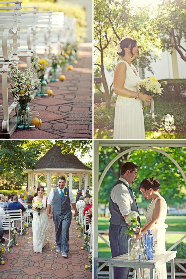 Perfect location for my ideal weddingBall Jars, Yellow Wedding, Church Flower, Mason Jars, Ceremonies Decor, Outdoor Wedding Decorations, Aisle Decor, Outdoor Weddings, Yellow Flower