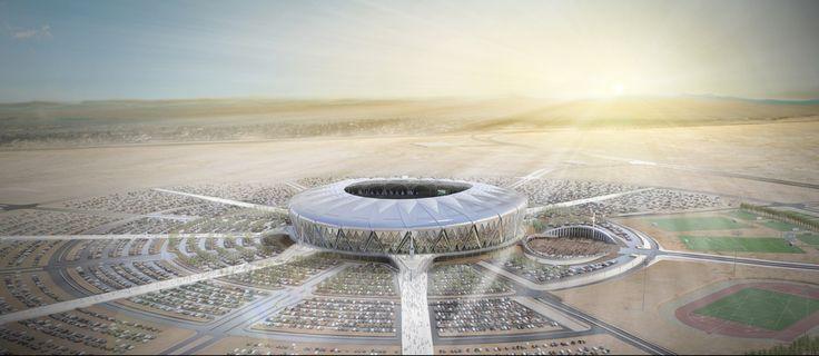 King Abdullah Sports City :: ARUP ASSOCIATES