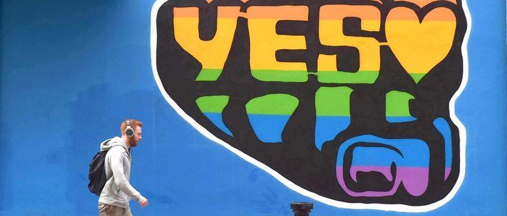 """Der Volksentscheid der Iren bringt einen klaren Sieg für die """"Yes""""-Kampagne zur Verfassungsänderung. Damit können künftig auch Lesben und Schwule heiraten."""