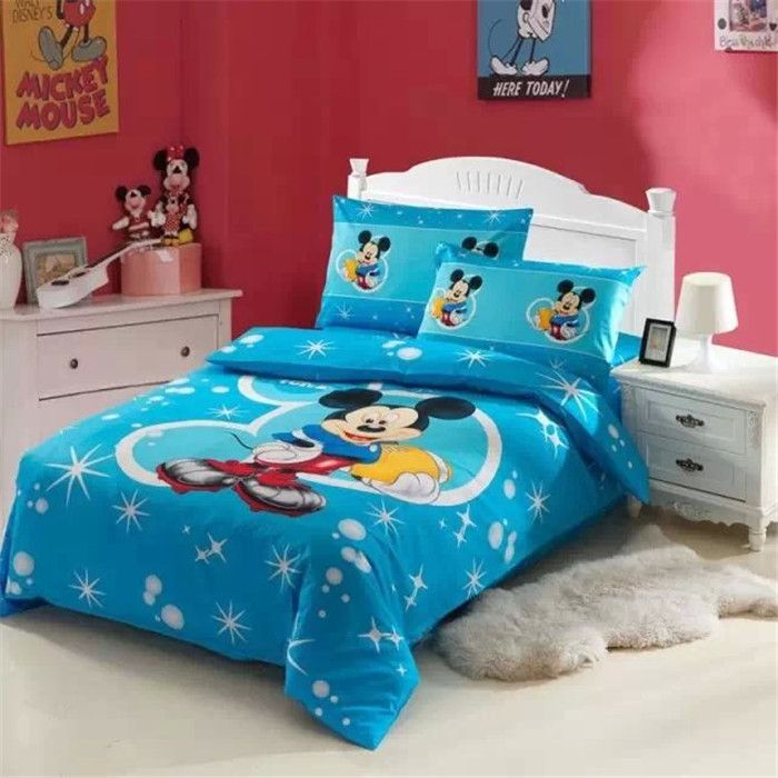 New Arrival Mickey Mouse Baby Bed Set Comforter Sets On Sale