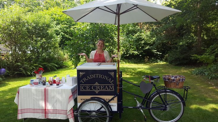 Ice cream tricycle service Southampton New Forest Hampshire Sailsbury Wiltshire