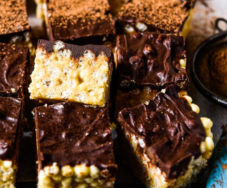 Quick & Easy No Mars Bar Slice.  Simple and delicious!  Free from gluten, grains, dairy, eggs and refined sugar.  Enjoy!