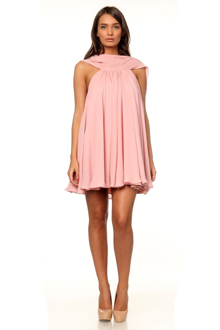 Marie Ollie pleated dress - www.marieollie.com