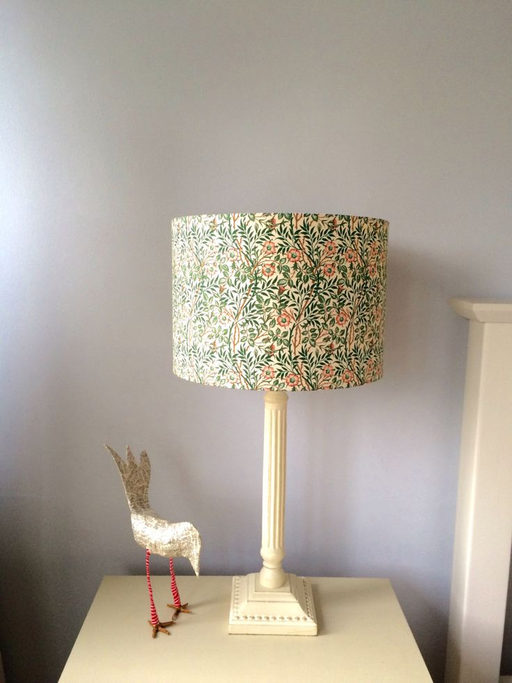 William Morris Sweet Briar 30cm or 40cm Handmade Lampshades with a choice  of linings