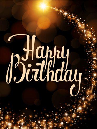 Magic Light Happy Birthday Card