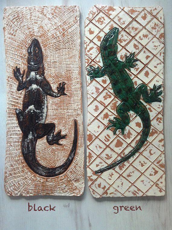 Lizard ceramic tiles