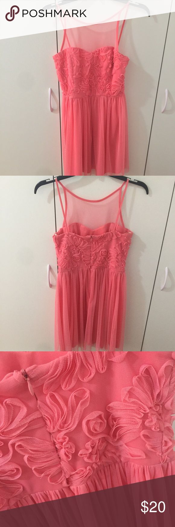 Pink short dress Only worn once for party. In great condition and great for parties and occasions. Jump Dresses Mini