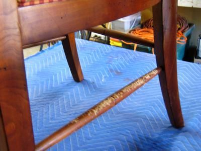 How to Repair Wood Furniture That Has Been Chewed By a Pet