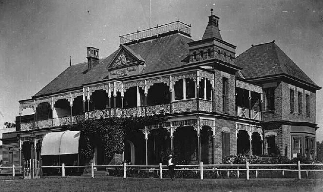 Clifton Springs Hotel, circa 1910.