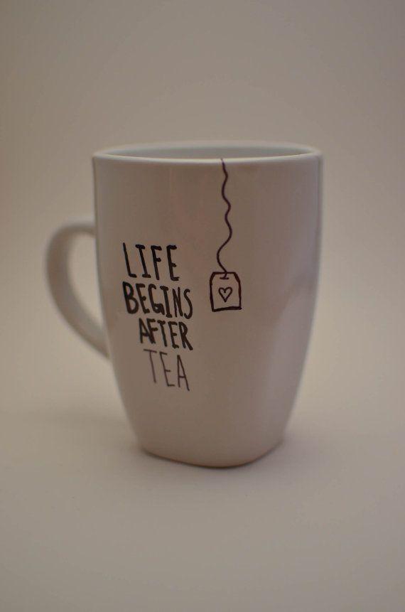 Coffee or Tea Mug. by SoonMrsWilson on Etsy