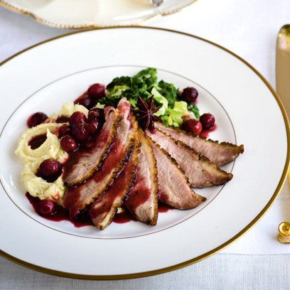 If you prefer duck breasts, Gordon Ramsay's Pan-fried duck breast with spiced orange and cranberry sauce is the dish for you