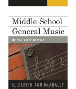 Middle School General Music; The Best Part of Your Day  Middle School General Music is a guidebook for music teachers trying to navigate the sometimes turbulent waters of teaching middle school general music. Written by an in-service teacher, this publication contains strategies and lessons