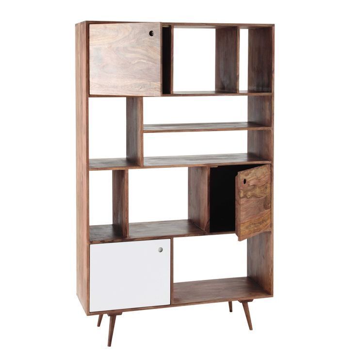 etagere murale maison du monde dco murale en bois bleu x cm cuisine with etagere murale maison. Black Bedroom Furniture Sets. Home Design Ideas