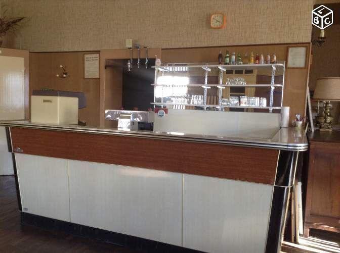 Bar de bistrot ameublement moselle comptoir de bar en formic - Leboncoin moselle immobilier ...