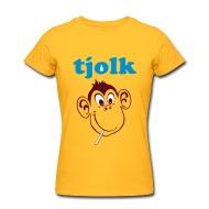 T-shirts ~ Vrouwen T-shirt van American Apparel ~ Tjolk. The memories!