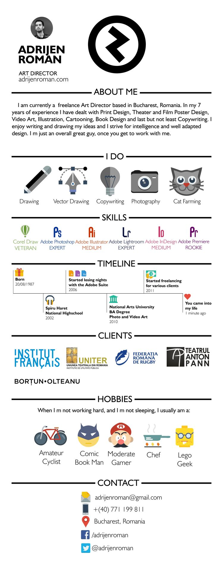 My Graphic CV
