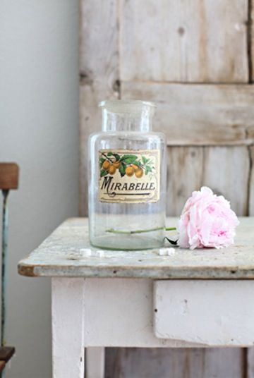 vintage jam jars for vases