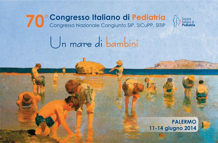 Dall'11 al 14 giugno MIR sarà presente al 70° Congresso della Società Italiana di #Pediatria che si terrà presso l'università di #Palermo.