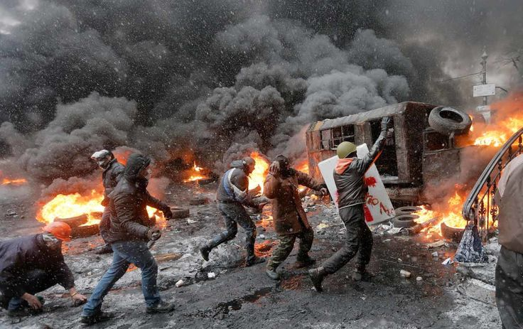 The Oscar-nominated Netflix documentary Winter on Fire: Ukraine's Fight for Freedom presents viewers with a story of everyday citizens facing down brutal riot police controlled by Ukraine's then-President Viktor Yanukovych, backed by Russian President Vladimir Putin.