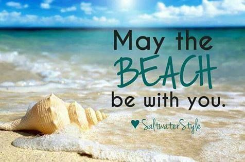 may the beach be with you