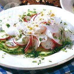 Salada de rabanete e nabo com pepino @ allrecipes.com.br