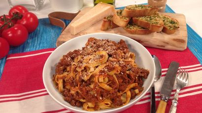 How to make Gino D'Acampo's classic bolognese