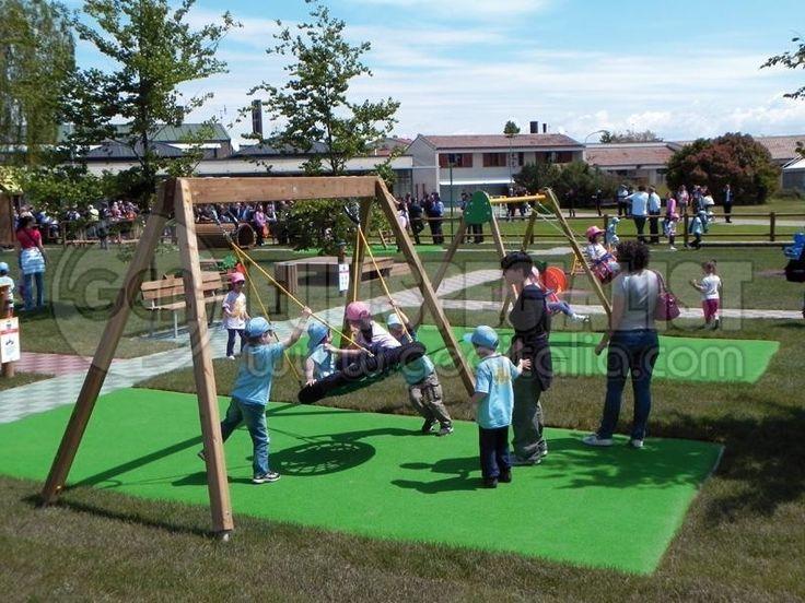 linea classic legno - GEA Fun Specialist - Attrezzature per parchi giochi esterni ed interni