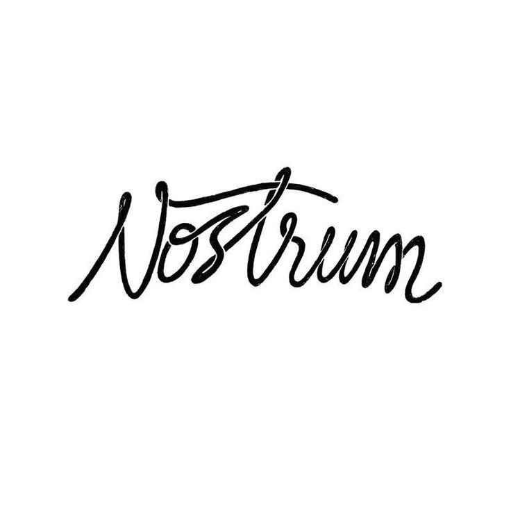 Typograf from Nostrum Supply