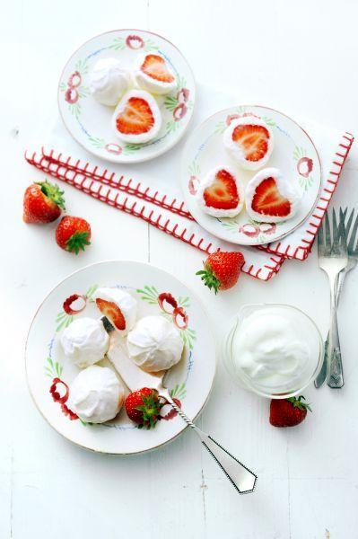 Recept - aardbeien yoghurt - met Zonnigfruit