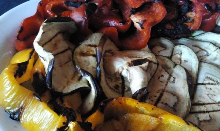 Verdure grigliate  #food #bagnocerboli #follonica #italianfood #foodfotografy #verdure #vegetables