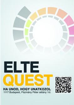 Horváth Tímea - ELTE Quest plakát