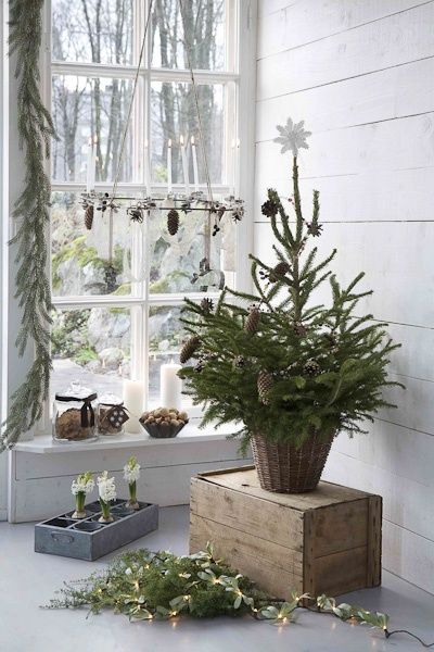 A Whole Bunch Of Christmas Entry and Porch Ideas                                                                                                                                                                                 More