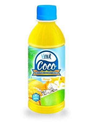 300ml_PET_bottle_Natural_Pure_Coconut_water_Mango_flavour
