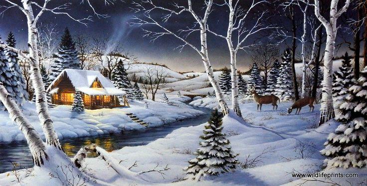 Mark Daehlin A Winters Night | WildlifePrints.com