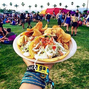 This taco trio: | The 17 Most Glorious Things That Happened At Coachella This Year