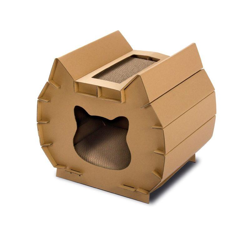 TIRAGRAFFI ALADIN IN CARTONE - Cartone e Tappetini - Tiragraffi - Gatto cibo e accessori per cani, gatti e animali domestici