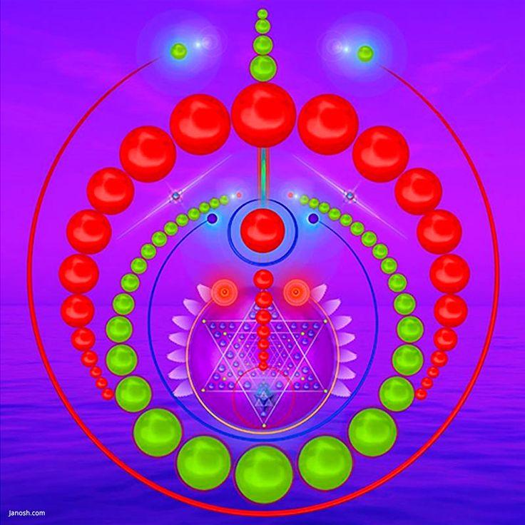 Geometria Sagrada – Comutação: essa frequência ajuda a acelerar o processo de alternar entre o mundo exterior e sua experiência interior. Janosh  A fluidez entre nosso mundo externo e o interno é de grande valia, pois nos expressamos através desse mundo dual configurado por fenômenos.  Temos que aprender a buscar no mais profundo de nossas experiências internas a essência, e trazê-las à tona, manifestando-as no mundo das dualidades.  Devemos entender que este mundo que vemos, ouvimos…