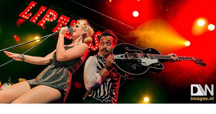 #LIPTEASE Nederlands meest sexy rockabilly-band Liptease kwam op 17 december met een spetterende kerstshow, i.s.m. het Dolhuis, naar Bibelot! Met optredens in De Wereld Draait Door, RTL Late Night en Holland's Got Talent braken de drie dames en hun meerstemmig gezongen fifties-rock 'n' roll dit jaar definitief door bij het grote publiek. Klik op bovenstaande foto voor het volledige fotoverslag!